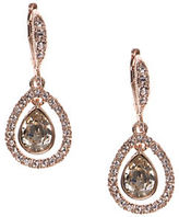 Givenchy Rose Goldtone Orbital Drop Earrings