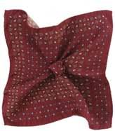 Patterned Silk Pocket Square