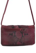 Miu Miu Purple Python Flap Shoulder Handbag BY4813 MHL