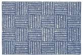 4 x 6' Tally Rug (Blue)