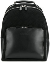 Canali checked backpack
