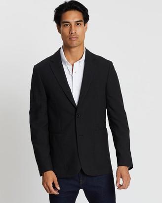 Cerruti Patterned Wool Jacket
