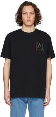 J.W.Anderson Black Logo Embroidery T-Shirt