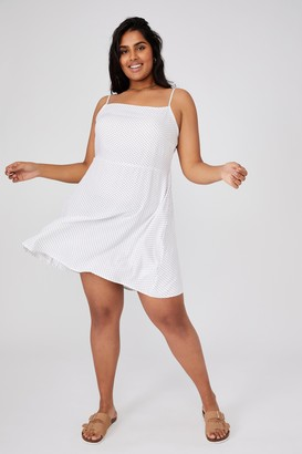 Cotton On Curve Woven Hannah Strappy Mini Dress