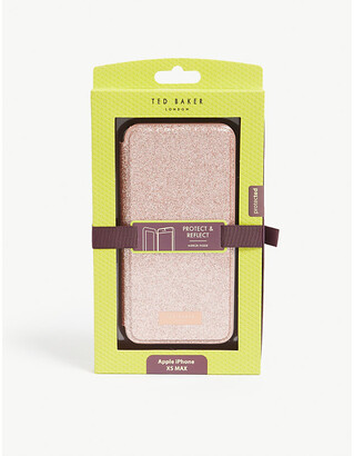 Ted Baker Sparkly glitter iPhone XS MAX folding case