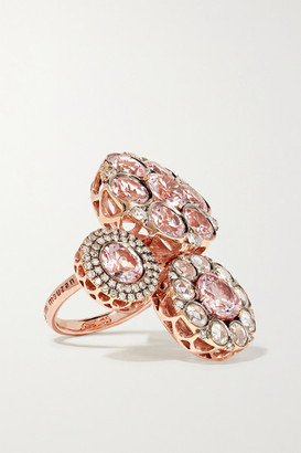 Selim Mouzannar Beirut 18-karat Rose Gold, Morganite And Diamond Ring - 52