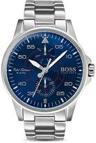 HUGO BOSS Aviator Watch, 44mm