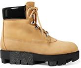 Acne Studios Teide nubuck platform ankle boots