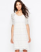 B.young Lace Shift Dress