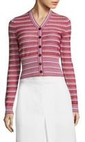 Bottega Veneta Striped Wool Cardigan