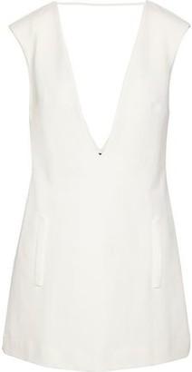 Adriana Degreas Open-back Crepe Mini Dress