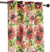 "Pier 1 Imports Bright Sun Floral 108"" Curtain"