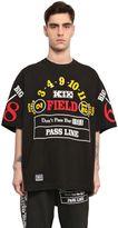 Kokon To Zai Casino Printed Cotton Jersey T-Shirt