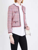 Claudie Pierlot Vanina tweed jacket