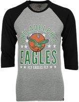 '47 Men's Philadelphia Eagles Lockdown Raglan T-Shirt
