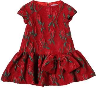 Mimisol Tweed Brocade Party Dress