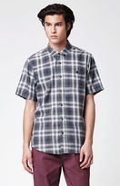 Ezekiel Garth Plaid Short Sleeve Button Up Shirt