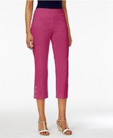JM Collection Slim-Leg Capri Pants, Only at Macy's