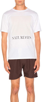 Saturdays Nyc Chest Square Tee