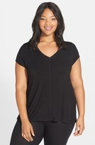 DKNY Plus Size Women's 'Urban Essentials' Jersey Tee