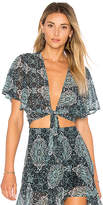Beach Riot X REVOLVE Laurel Top in Teal. - size L (also in M,S,XS)