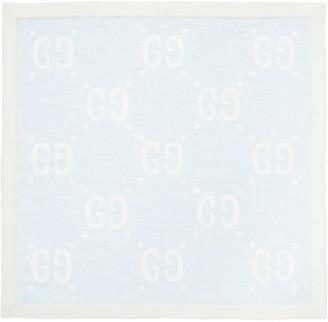 Gucci Wool & Cotton Blanket