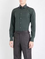 Richard James Contemporary-fit cotton-poplin shirt