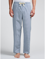 John Lewis Classic Stripe Lounge Pants, Blue