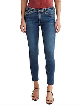 AG Adriano Goldschmied Legging Ankle Jean With Side Split
