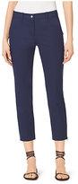 Michael Kors Samantha Stretch-Cotton Pants