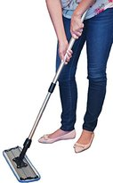 MOP Commercial Grade Microfiber Floor / Dust with a Washable Pad. Works Well on All Surfaces. Telescoping Handle Adjusts to Your Height.