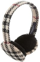 Burberry Nova Check Wool Earmuffs