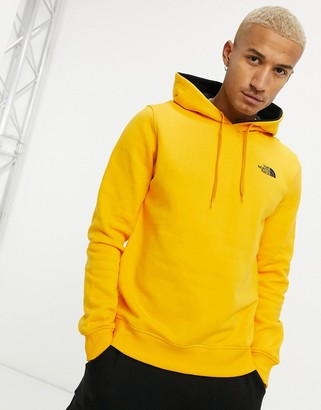 The North Face Seasonal Drew Peak hoodie in yellow