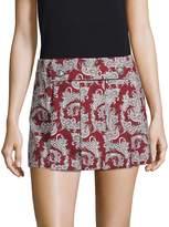 Versace Women's Printed Mini Skirt