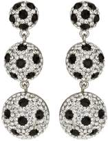 Mikey 3 drop earrings with spots