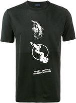 Lanvin Crane print t-shirt - men - Cotton - S