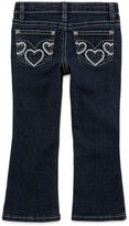 Arizona Embroidered Heart Back-Pocket Jeans - Toddler Girls 2t-5t
