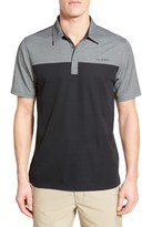 Travis Mathew Rudder Colorblock Polo Shirt