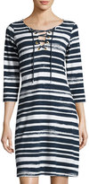 Tommy Bahama Brushed Breaker Striped Dress