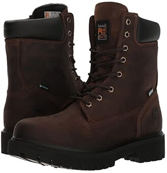 Timberland Direct Attach 8 Soft Toe (Brown Oiled Full-Grain Leather) Men's Work Lace-up Boots