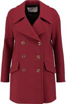 Sonia Rykiel Wool-blend crepe coat