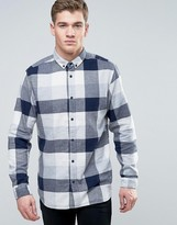 Jack and Jones Originals Shirt in Slim Fit Check Cotton