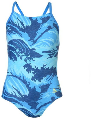 adidas Fit All Over Print Parley Swimsuit Ladies