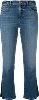 J Brand Selena cropped jeans - women - Cotton/Polyurethane - 24
