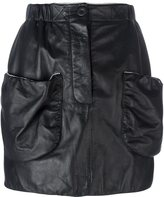 J.W.Anderson patch pockets fitted skirt