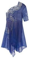 Stella McCartney Noah one-shoulder embroidered dress