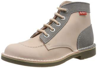 Kickers Girls' Kick Col Ankle Boots
