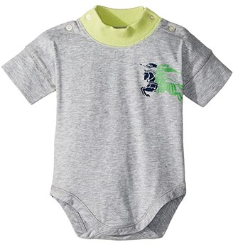 BURBERRY KIDS Coral ACABW Top (Infant) (Lime) Kid's Clothing