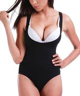 Black Underbust Shaper Bodysuit - Plus Too