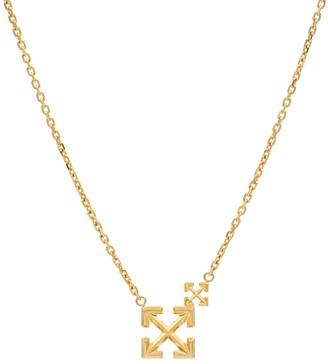 Off-White Double Arrow necklace